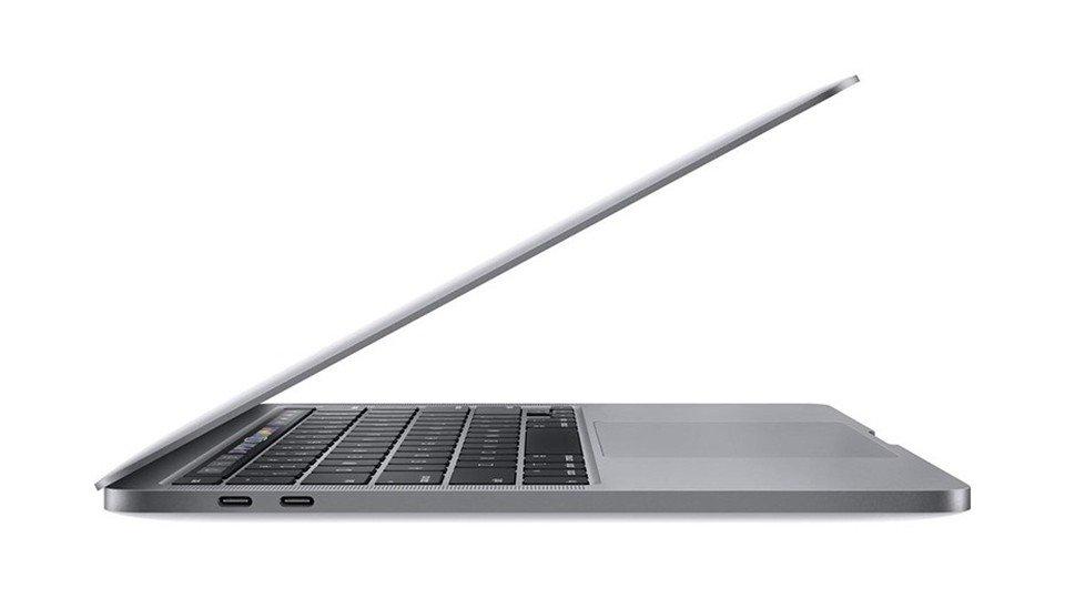 "MacBook Pro 13.3"" 2020 Touch Bar – MXK52 sử dụng 2 cổng Thunderbolt 3"