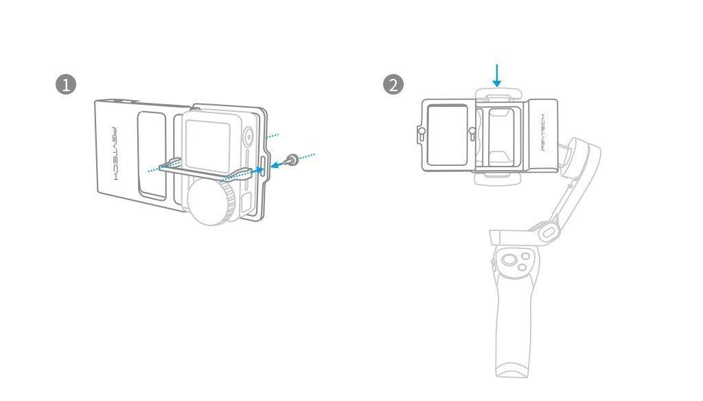 PGYTECH Action Camera Adapter info 6