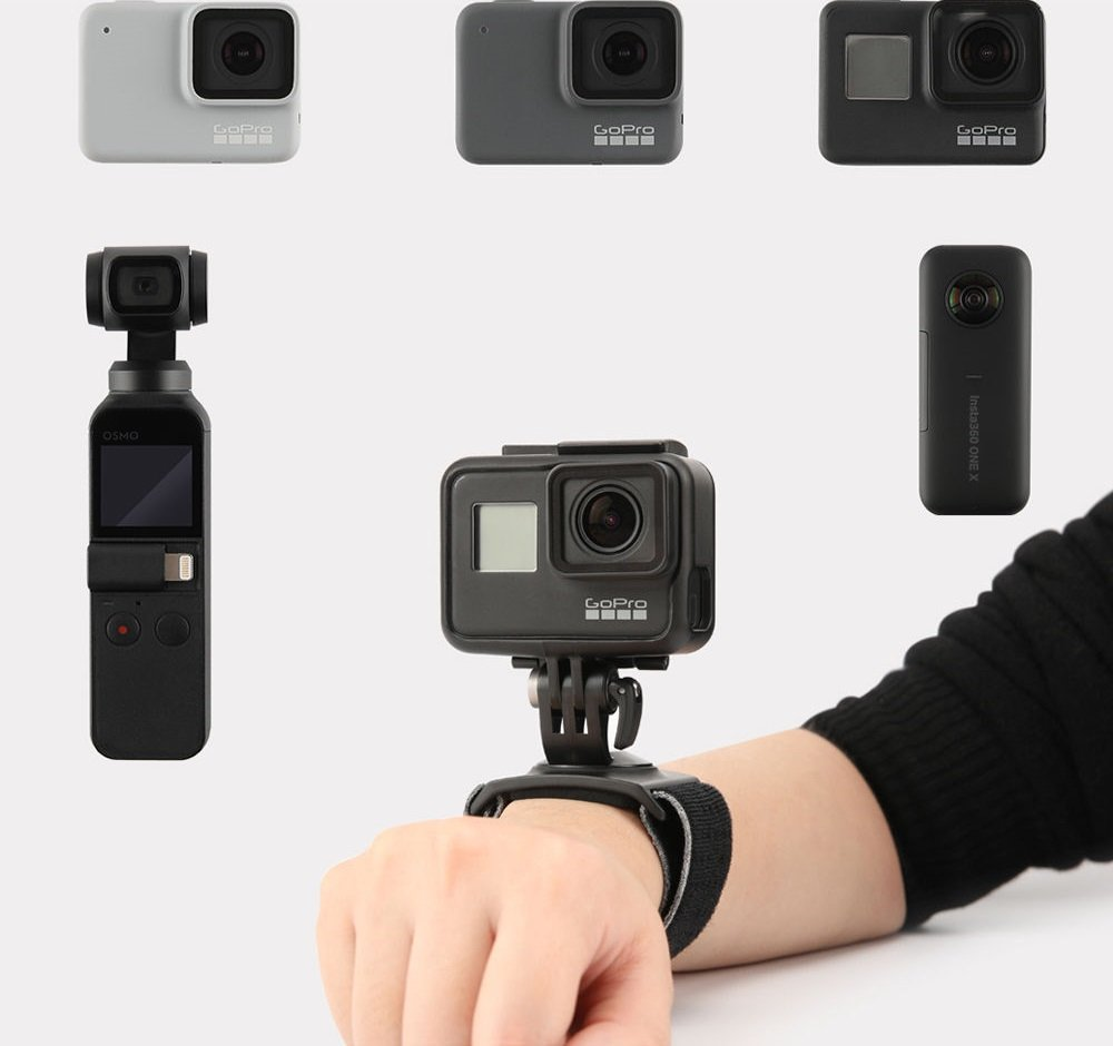 PGYTECH Action Camera Hand and Wrist Strap info 3
