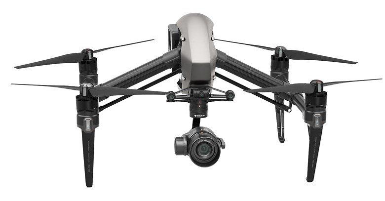 flycam DJI Inspire 2 với nhiều cải tiến mới