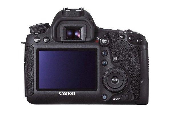 Canon EOS 6D với màn hình LCD 3 inch