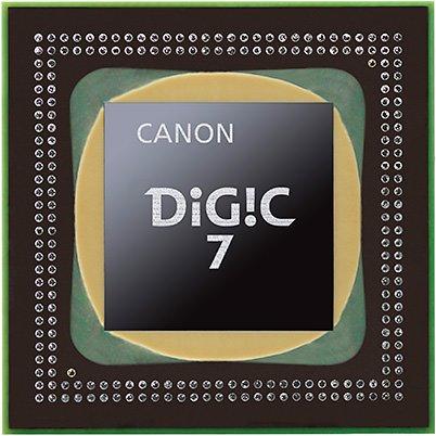 Canon M5 -  Bộ xử lý hình ảnh DIGIC 7