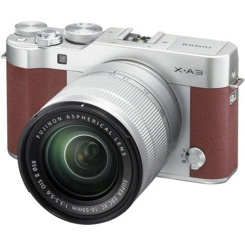 Fujifilm X-A3 + Kit XC 16-50mm F/3.5-5.6 (Brown)
