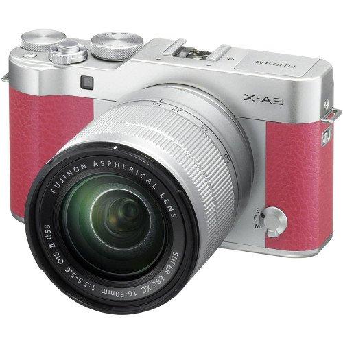 Fujifilm X-A3 + Kit XC 16-50mm F/3.5-5.6 (Pink)