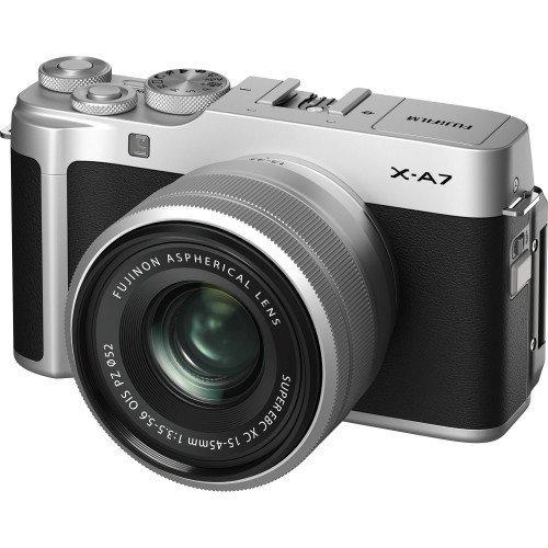 Fujifilm X-A7 + Kit XC 15-45mm F/3.5-5.6 (Silver)  | Chính hãng