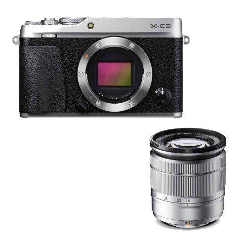 Fujifilm X-E3 + Lens 16-50mm F3.5-5.6 (Silver)   Chính hãng