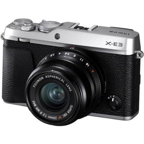 Fujifilm X-E3 + Lens 23mm F/2.0 (Silver) | Chính hãng