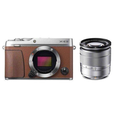 Fujifilm X-E3 + Lens 16-50mm F3.5-5.6 (Brown)   Chính hãng