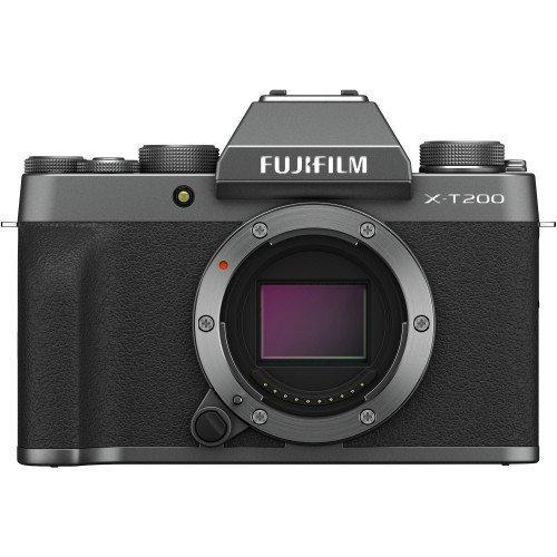 Fujifilm X-T200 (Dark Silver, Body Only) | Chính hãng