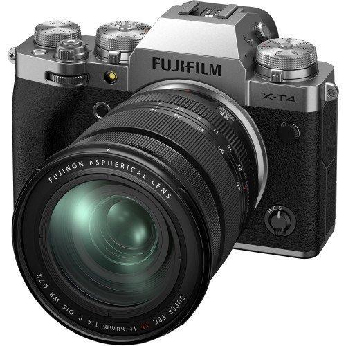 Fujifilm X-T4 + Lens XF 16-80mm F/4 (Silver) | Chính hãng
