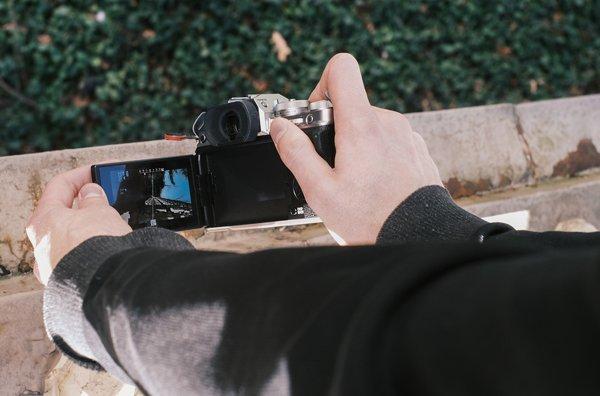 hình ảnh thực tế của máy ảnh Fujifilm X-T4