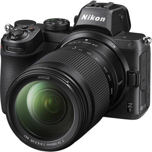 Nikon Z5 + Lens 24-200mm f/4 - 6.3