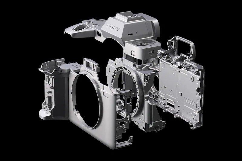 Sony Alpha 1 - Khung hợp kim magie nhẹ và bền