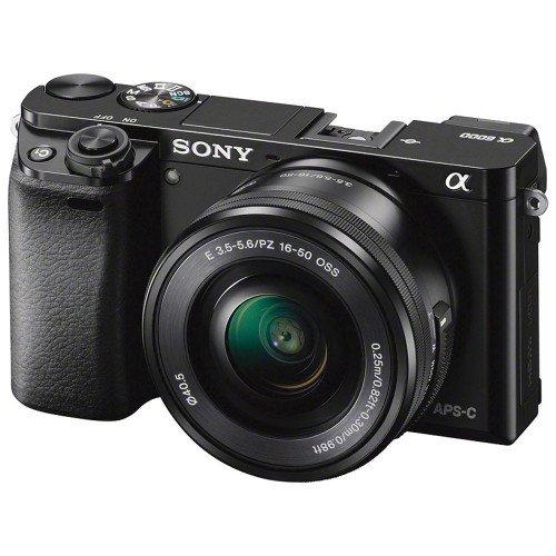 Sony Alpha A6000 + Lens 16-50mm F3.5-5.6 (Black)