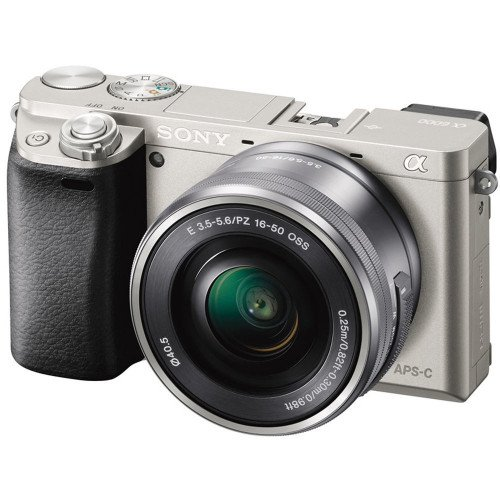 Sony Alpha A6000 + Lens 16-50mm F3.5-5.6 (Silver)