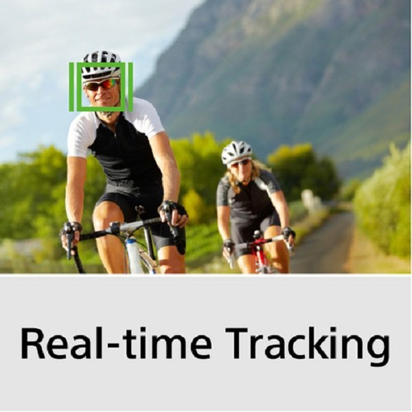 real time tracking trên Sony A6400