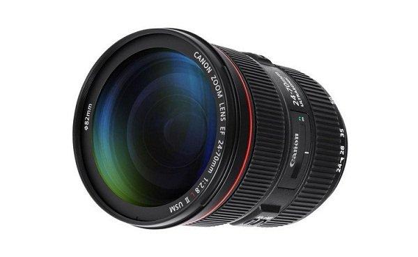 Canon EF 24-70mm f/2.8L II USM trang bị công nghệ FTM