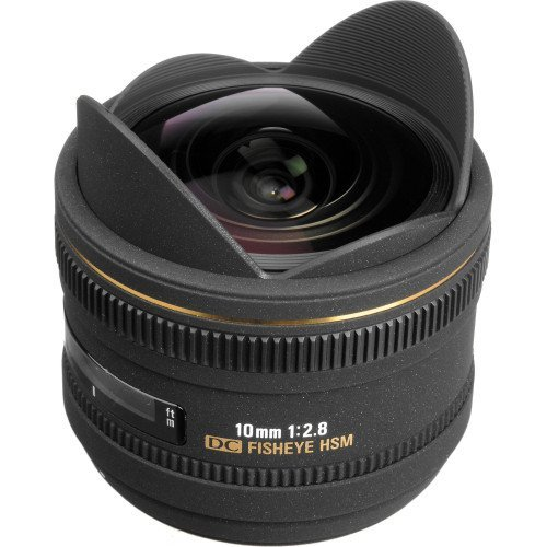 Sigma 10mm f/2.8 EX DC HSM Fisheye For Nikon | Chính hãng
