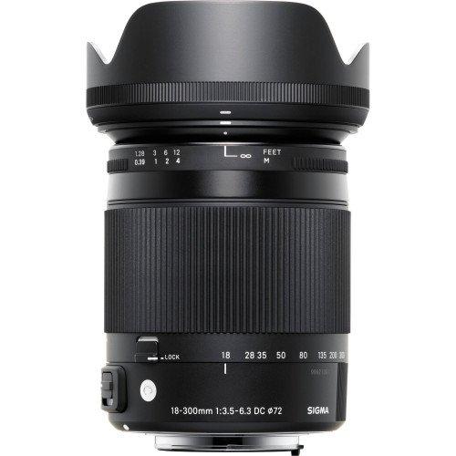 Sigma 18-300mm f/3.5-6.3 DC Macro OS HSM Contemporary For Nikon | Chính hãng