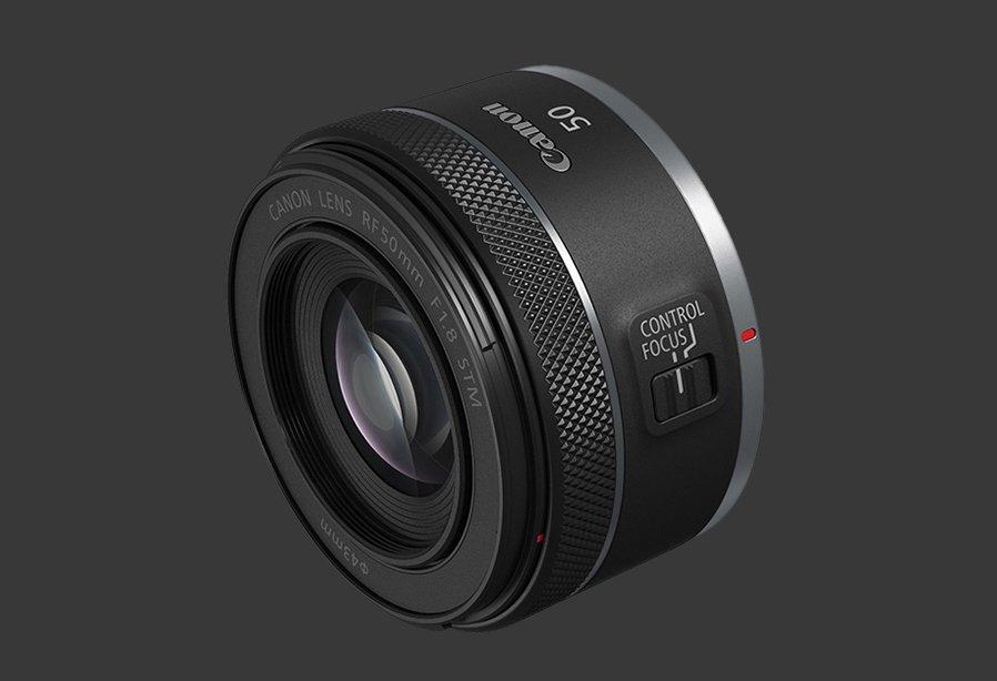Canon RF 50mm f1.8 STM - Vòng điều khiển tùy chỉnh