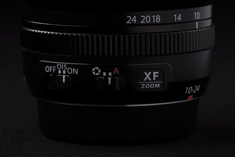Fujifilm XF 10-24mm f4 R OIS - Chống rung quang học