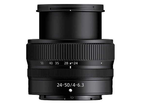 Nikon Z 24-50mm f4-63 với thiết kế mở rộng thu vào linh hoạt