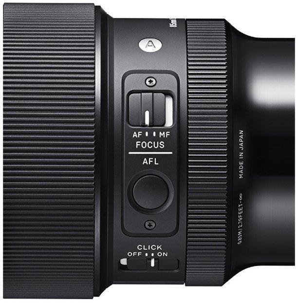 Sigma 85mm f1.4 DG DN Art for Sony E - Kiểm soát lấy nét