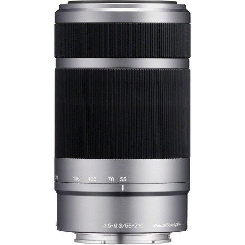 Sony E 55-210mm f/4.5-6.3 OSS (Silver)
