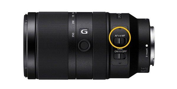 Sony E 70-350mm F/4.5-6.3 G OSS với bộ Ổn định hình ảnh quang học SteadyShot