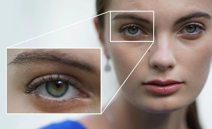Cài đặt gần (0.7-2m) sẽ phù hợp với ảnh cận khuôn mặt hoặc siêu cận cảnh