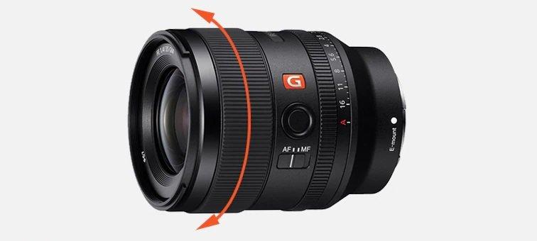 Sony FE 35mm f1.4 GM - Phản hồi lấy nét tuyến tính