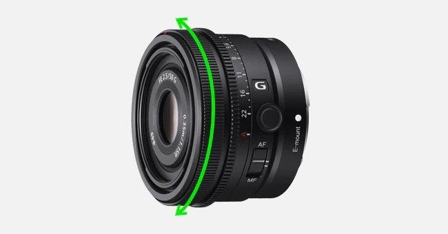 Sony FE 50mm f2.5 G - Cung cấp phản hồi lấy nét tự nhiên