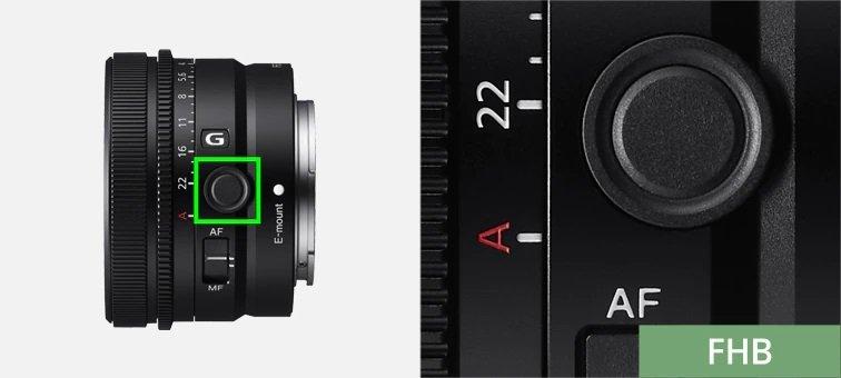 Sony FE 50mm f2.5 G - Nút Focus Hold có thể tùy chỉnh