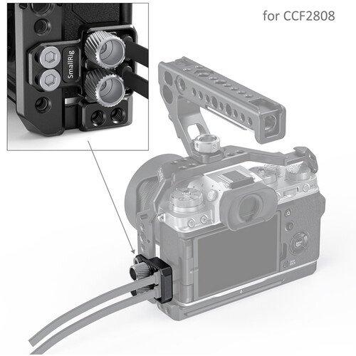 SmallRig HDMI và USB Type-C - BSC2809 giữ cáp tối ưu