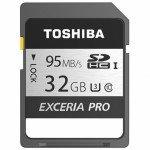Thẻ nhớ SDHC Toshiba Exceria N401 32GB 95MB/s | Khuyến mại
