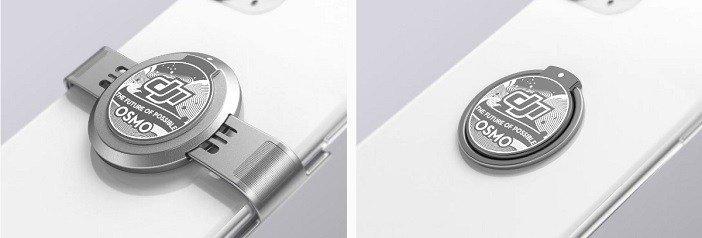 DJI OM 4 vs DJI Osmo Mobile 3 compare - Kẹp nam châm và Ring nam châm