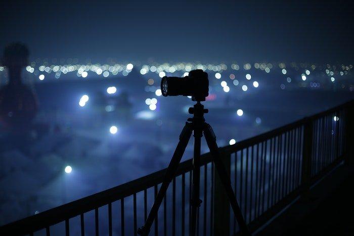 Chuẩn bị thiết bị trước khi chụp ảnh ban đêm