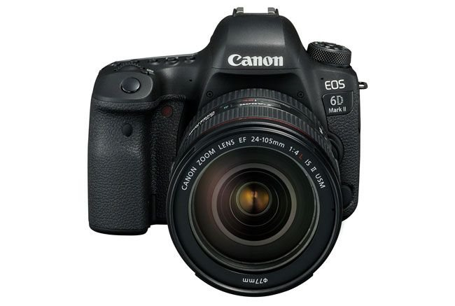 Máy chụp hình Canon chuyên nghiệp EOS 6D Mark II trang bị cảm biến 26MP