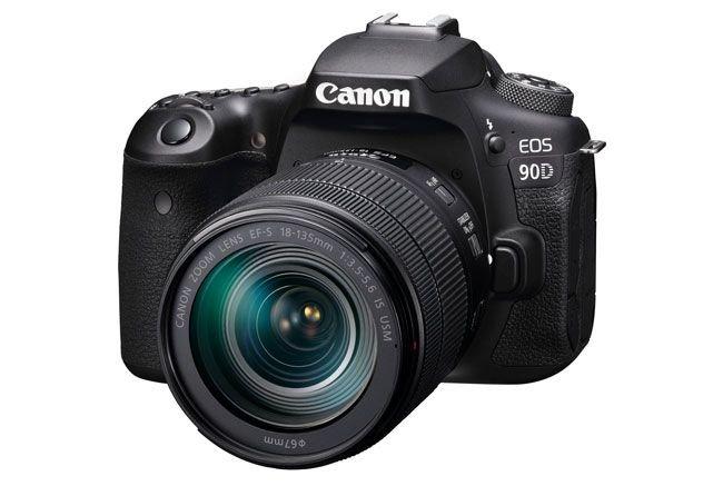 Canon EOS 90D trang bị cảm biến APS-C 32.5MP