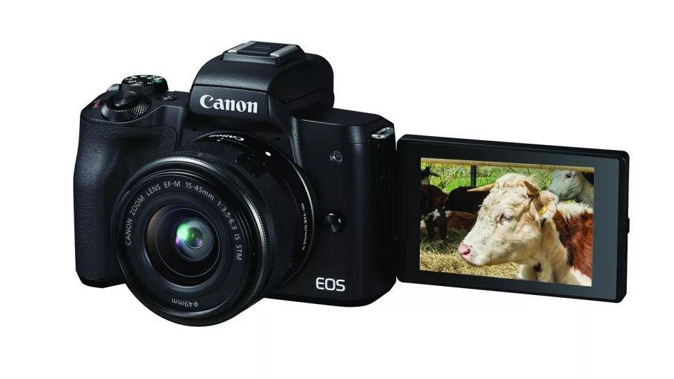 Máy chụp hình Canon EOS M50 tích hợp nhiều công nghệ tiên tiến