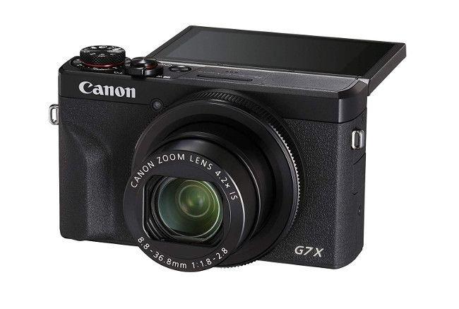 Máy chụp hình Canon PowerShot G7 X Mark III có khả năng quay video 4K