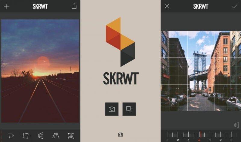 Photo Editor Mobile App - Skrwt